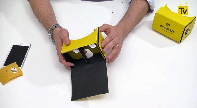 Sanal Gerçeklik Gözlüğü Vr Cardboard Nedir Nasıl Kullanılır