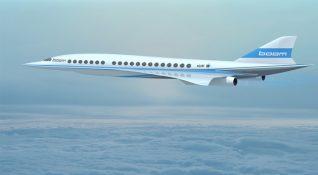 Boom adlı yeni girişimden süpersonik yolcu uçağı