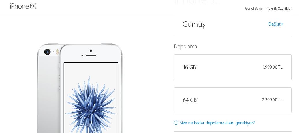 iPhone SE 16 GB 64 GB