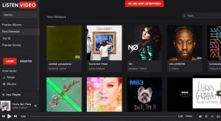 Türkiye'de geliştirilen Syotify, Spotify tehditinden sonra adını ListenVideo olarak değiştirdi