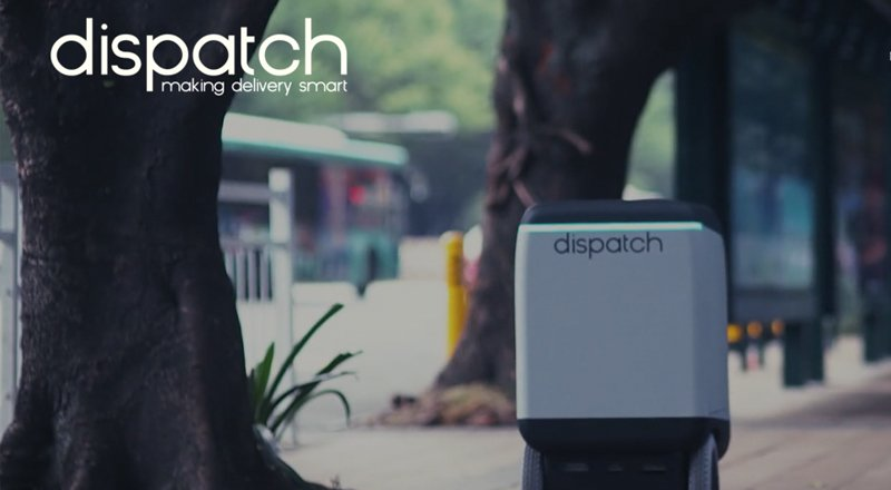Dispatch-robot-kurye