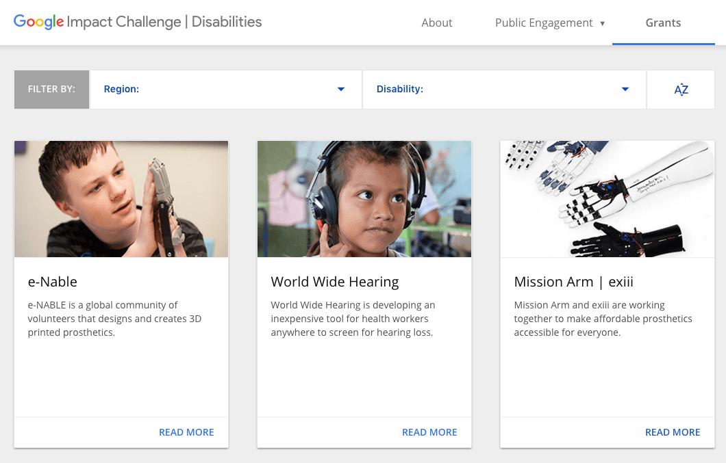 Engelli bireyler icin projeler