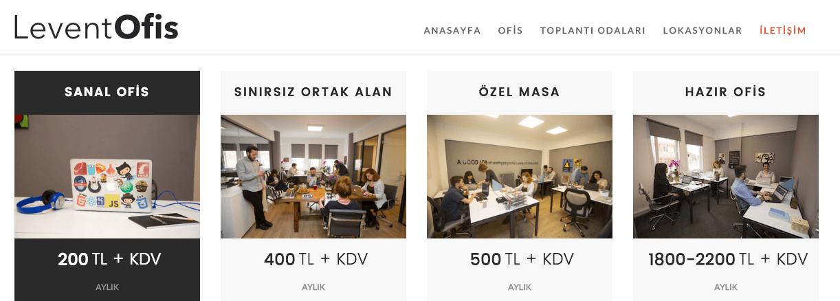 Levent ofis sanal ofis