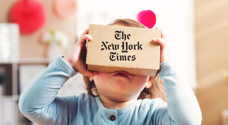 NY Times carboard