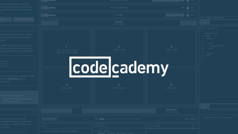 Çocuklara kod yazmayı öğreten online servis Codecademy
