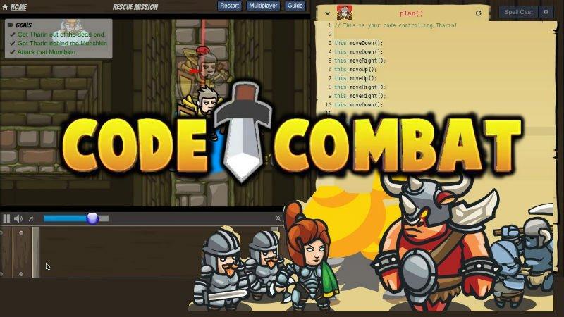 Çocuklara kod yazmayı öğreten online servis CodeCombat