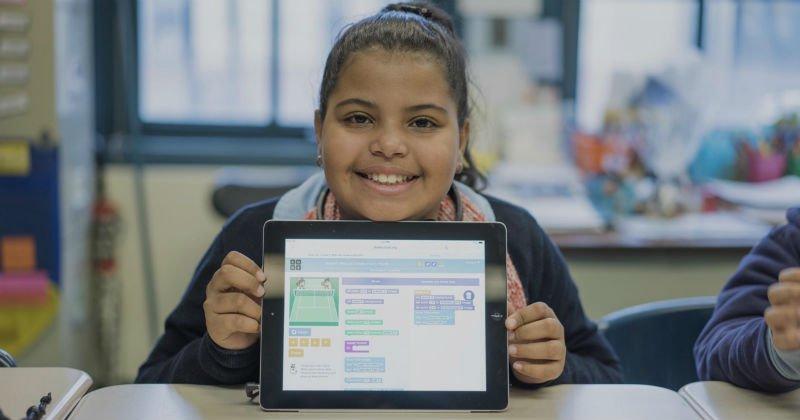 Çocuklara kod yazmayı öğreten online servis Code.org
