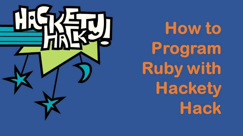 Çocuklara kod yazmayı öğreten online servis Hackety Hack