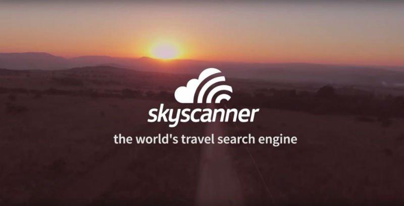 Seyahat uygulaması Skyscanner