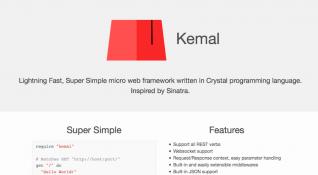 Crystal kullanan web çatısı Kemal, performans ve kolay kullanımıyla öne çıkıyor [Yerli GitHub]