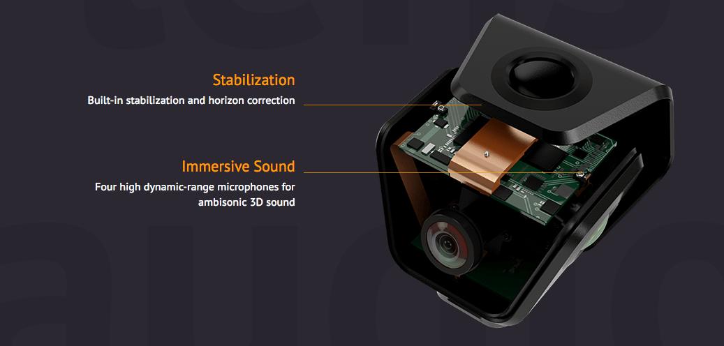 orah VR kamera