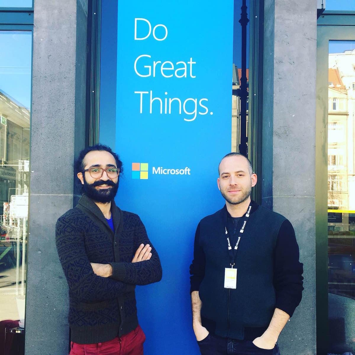 Raklet ekibi Microsoft Ventures programı için Berlin'de