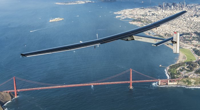 Güneş enerjisiyle dünyayı turlayan tarihi uçuş bugün tamamlandı