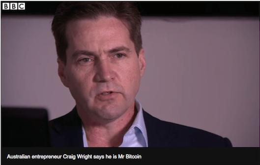 Bitcoin mucidi Craig Wright