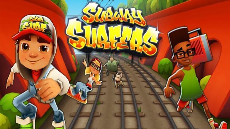 Çocuklar için faydalı mobil uygulama Subway Surfers