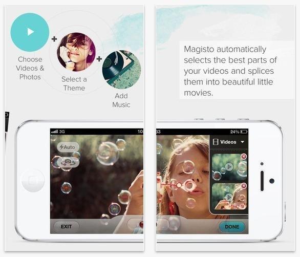 Video düzenleme uygulaması Magisto
