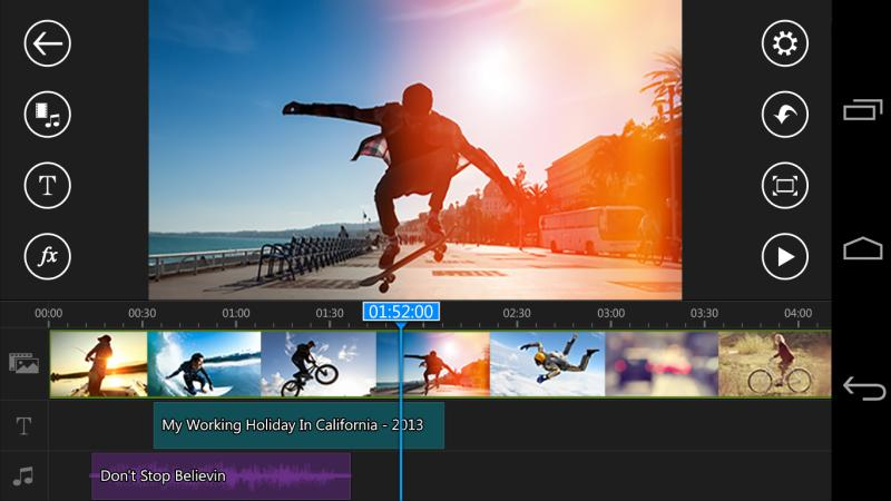 Video düzenleme uygulaması Splice