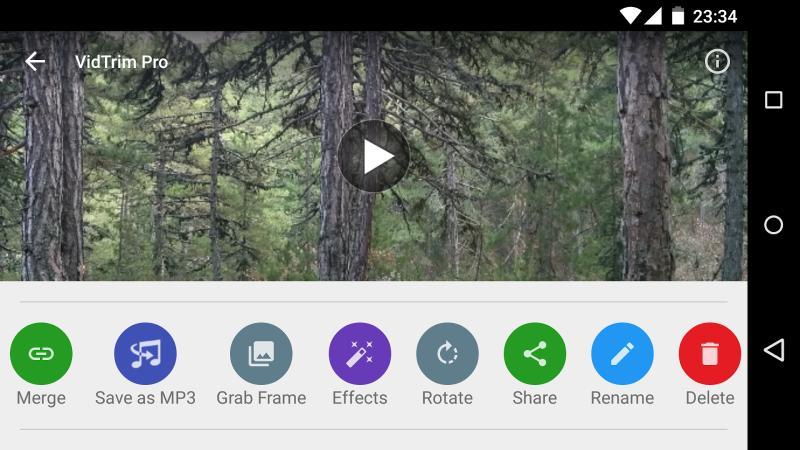 Video düzenleme uygulaması VidTrim PRO