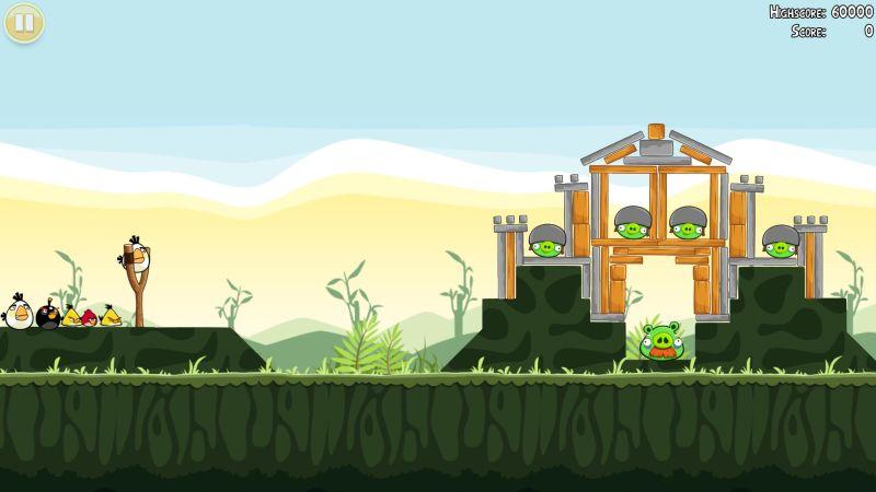 Tüm zamanların en iyi iOS uygulamalarından Angry Birds