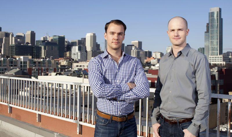 Bitcoin'den zengin olan Brian Armstrong ve Fred Ehrsham