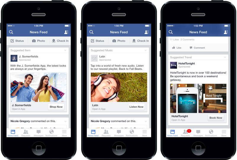 Tüm zamanların en iyi iOS uygulamalarından Facebook