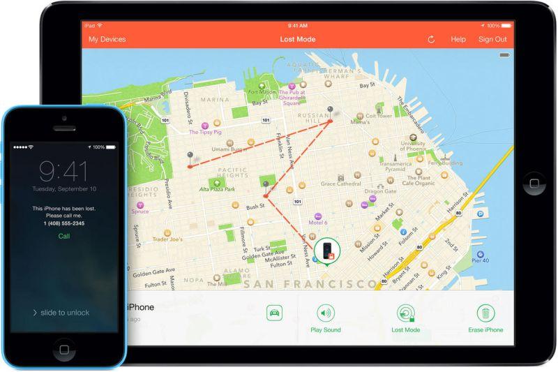 Tüm zamanların en iyi iOS uygulamalarından Find My iPhone