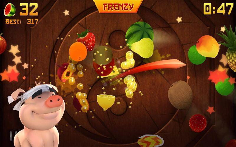 Tüm zamanların en iyi iOS uygulamalarından Fruit Ninja