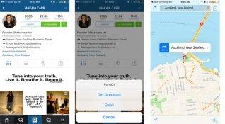 Instagram'ın işletmeler için tasarladığı profil sayfasının görüntüleri ortaya çıktı