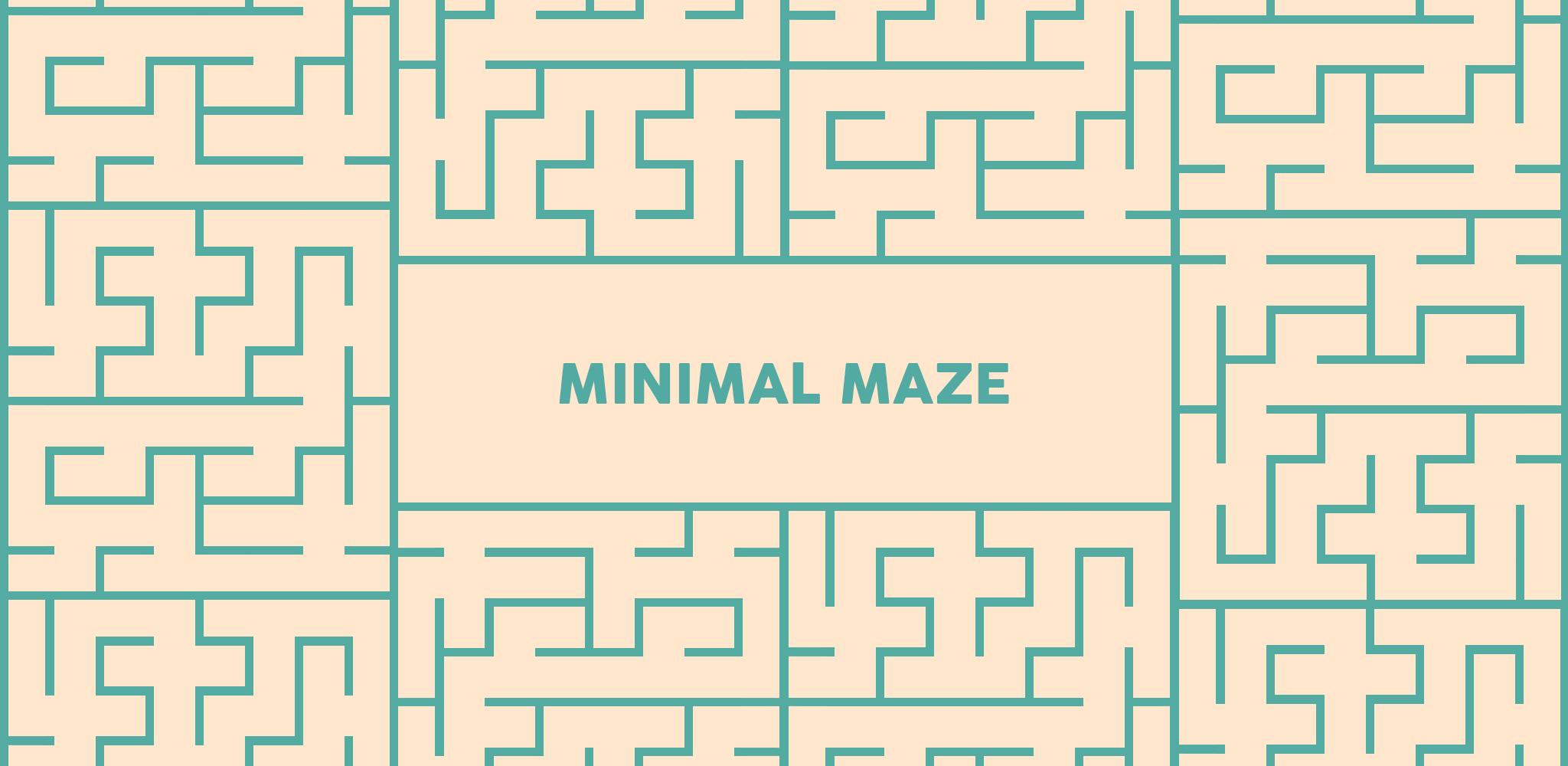 minimal-maze-gorsel