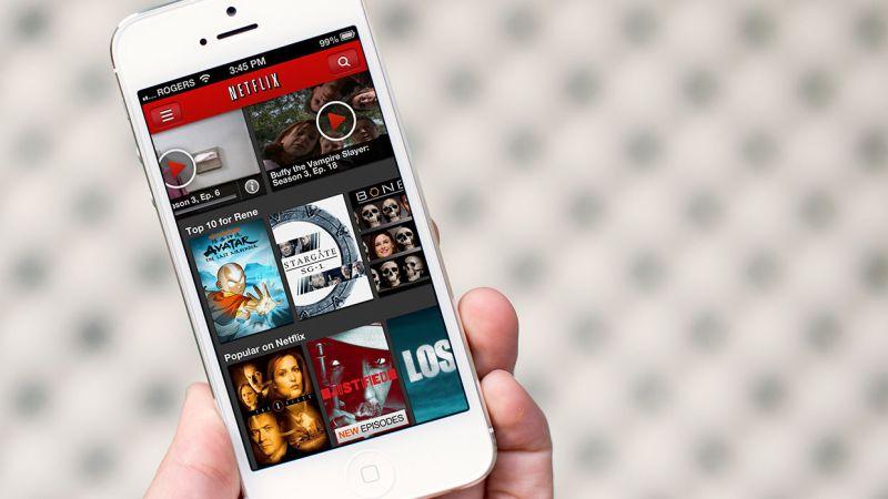 Tüm zamanların en iyi iOS uygulamalarından Netflix