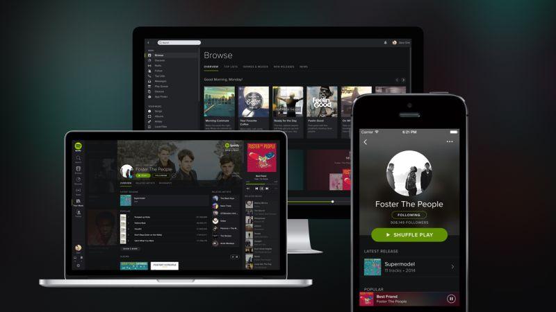 Tüm zamanların en iyi iOS uygulamalarından Spotify