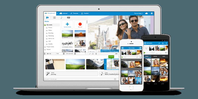 WeVideo video düzenleme konusundaki hemen hemen tüm temel ihtiyaçlarınızı çözebilecek şekilde tasarlanmış.