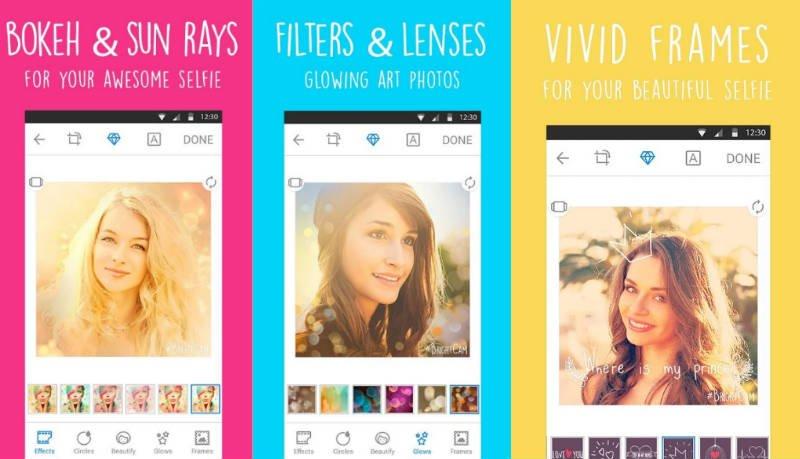 iOS ve Android için ideal bir selfie uygulaması: BrightCamera