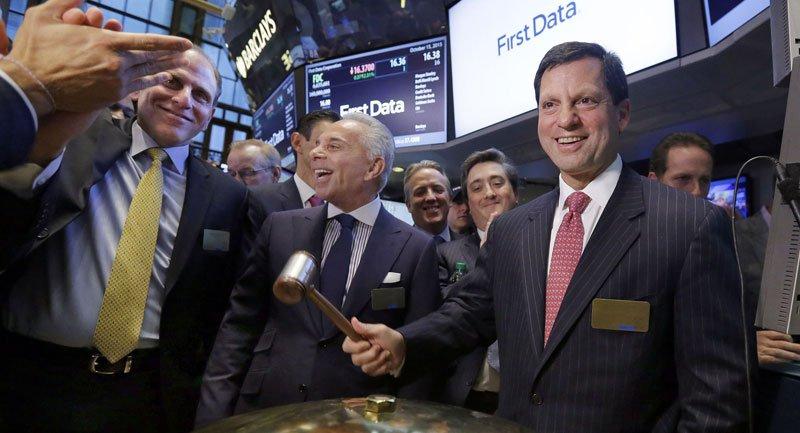 First Data - 28,7 milyar dolara satıldı.
