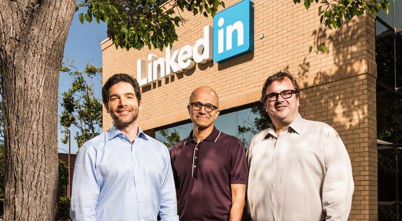 LinkedIn - 26,2 milyar dolara satıldı.