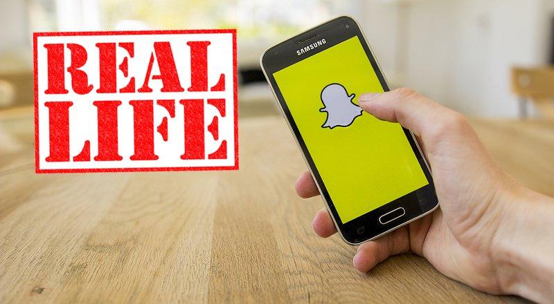Snapchat-Dergi