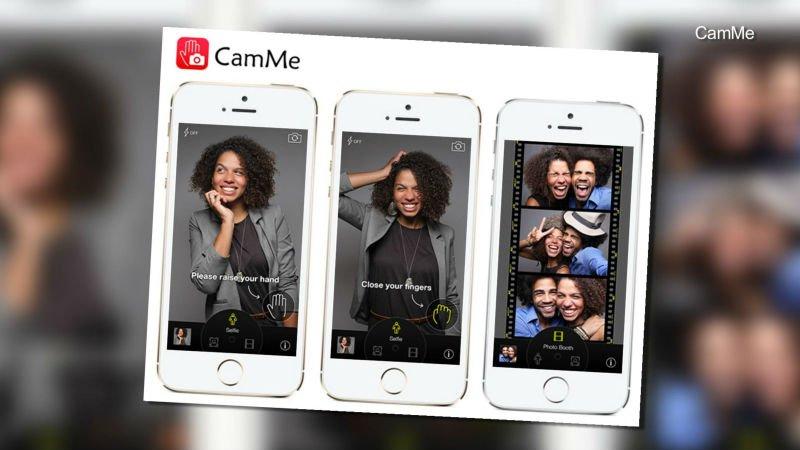 iOS için dilediğiniz uzaklıktan çekim yapabileceğiniz bir selfie uygulaması:camme