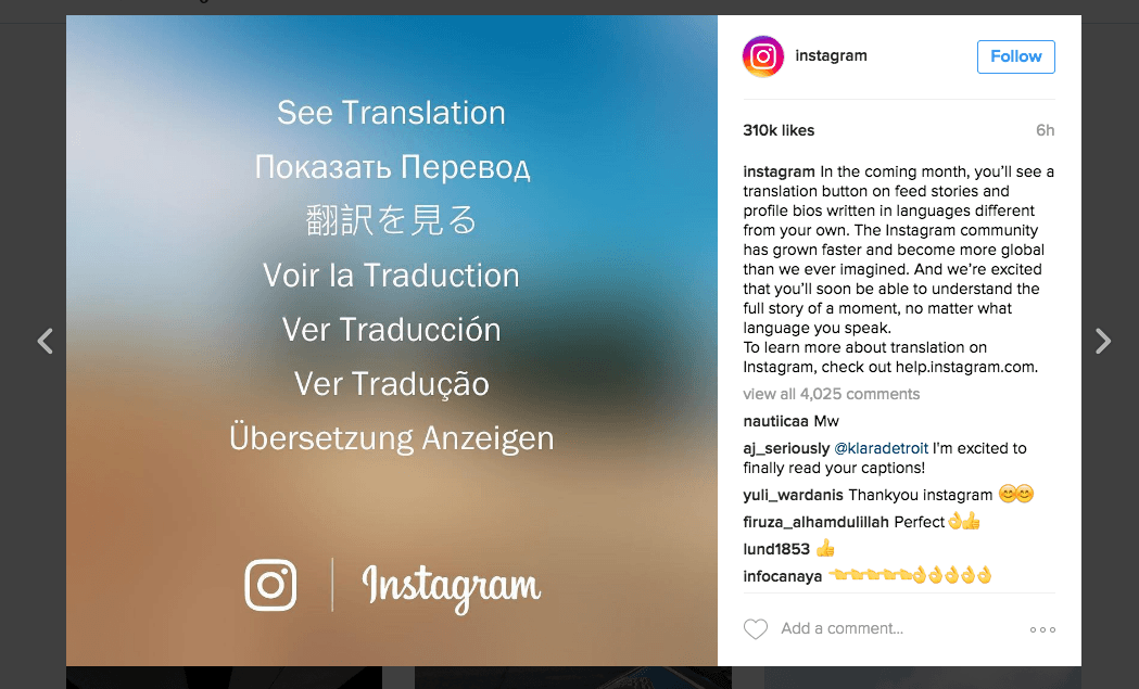 instagram-ceviri-ozelligi