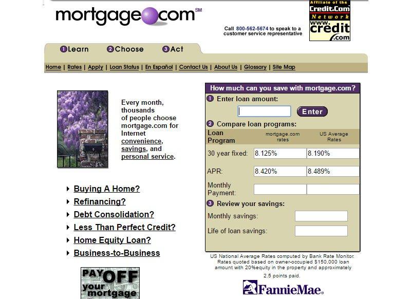 Tüm zamanların en pahalı alan adları: mortgagecom
