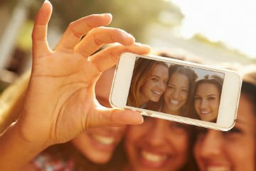 iOS, Android selfie uygulamaları