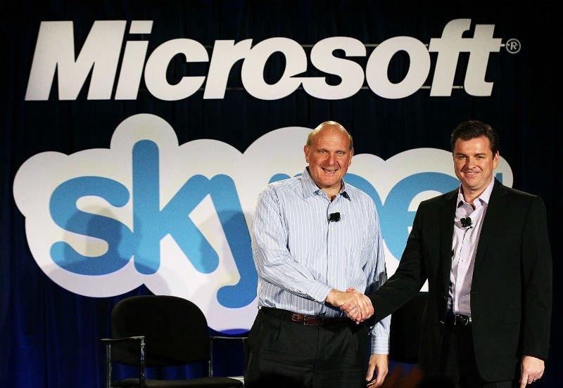 Skype 8,5 milyar dolar'a satıldı.