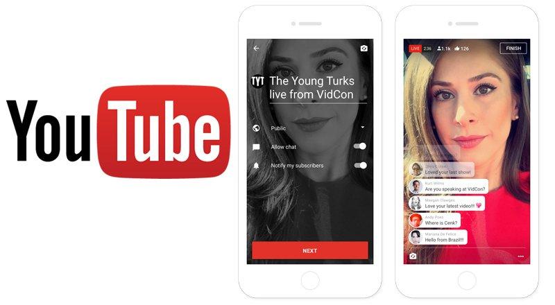 youtube-mobil-uygulama-canli-yayin