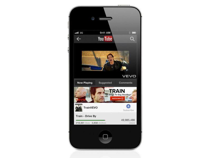 Tüm zamanların en iyi iOS uygulamalarından YouTube