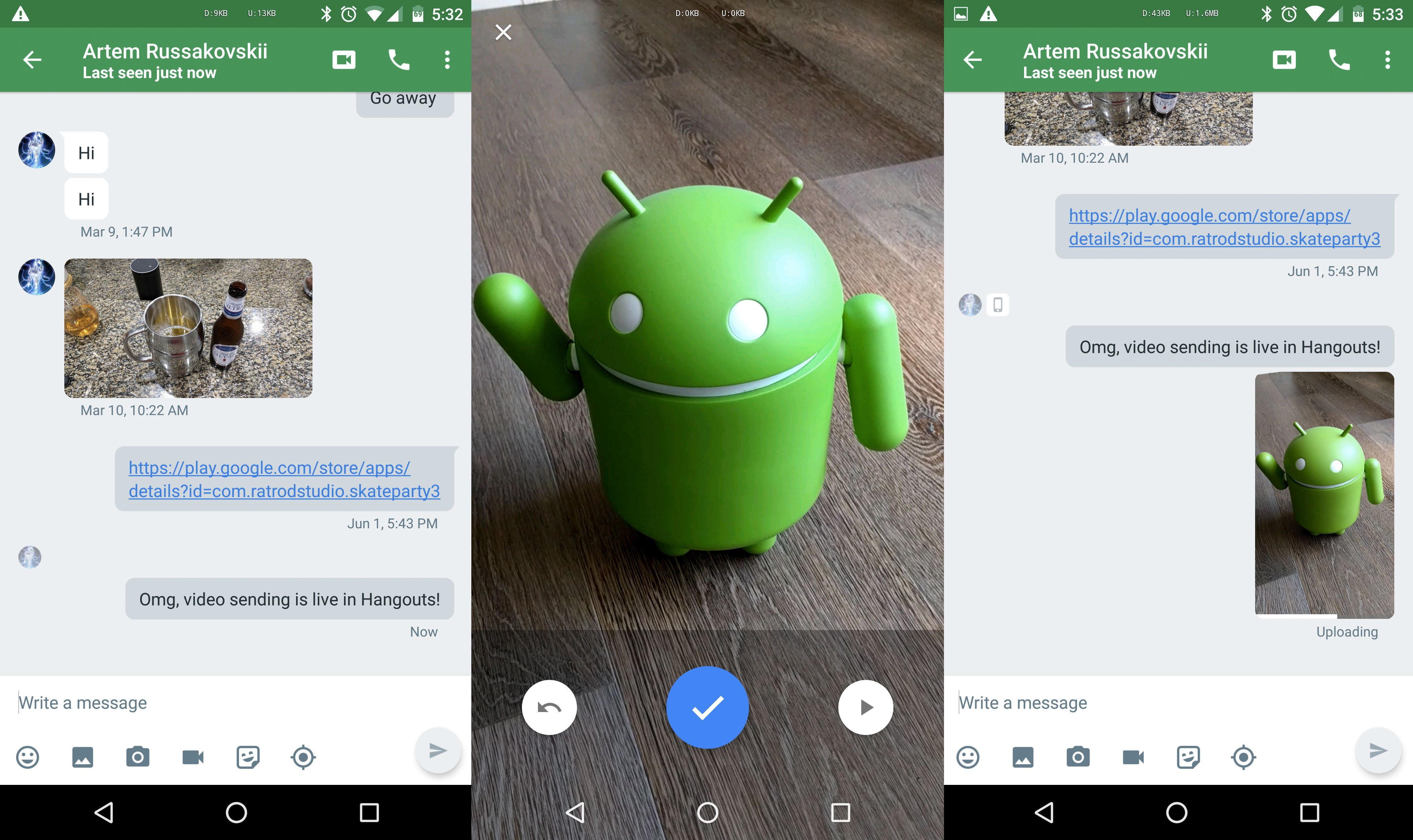 Android-Google-Hangouts