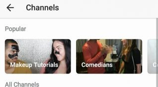 Instagram videolar için konularına göre kanal özelliğini test ediyor