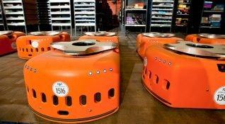 Amazon depolarında devrimin adı Kiva Robotları