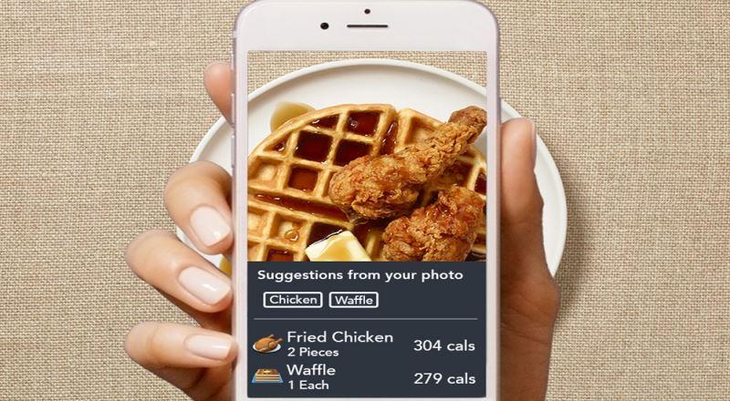 waffle ve kızarmış tavuk