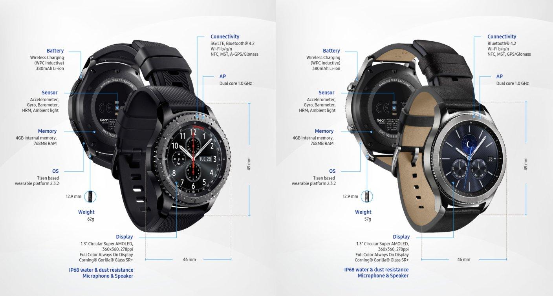 Samsung akıllı saat ailesininin yeni üyesi Gear S3'ü tanıttı
