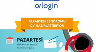 Cvlogin'de en çok CV hazırlanan gün (sendrom etkisiyle?) Pazartesi [İnfografik]