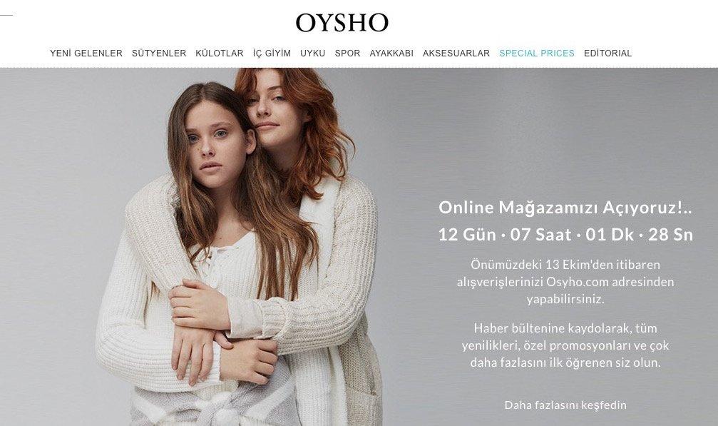 oysho-eticaret